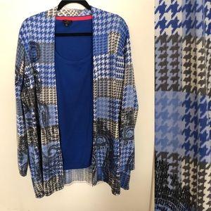 Talbots Merino sweater set